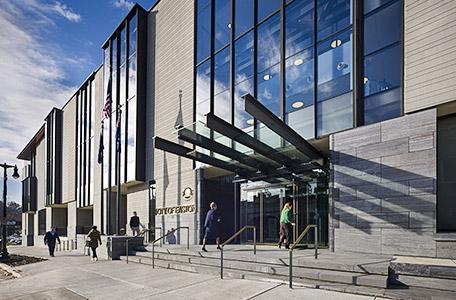 Main entrance - outside